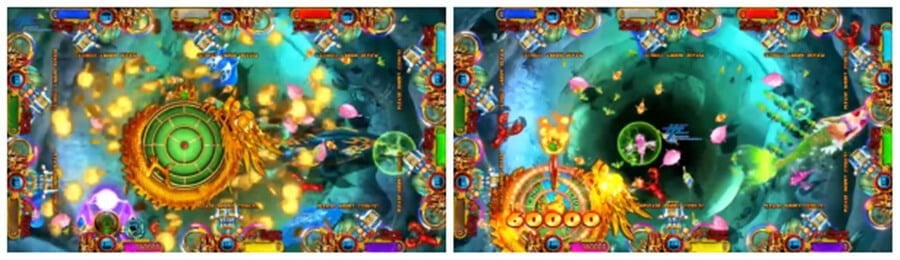 Fishing Games Ocean King 3 Plus Aquaman Realm-High Profit Holding Fish Games. Customize Game Software. Excellent Cabinets.